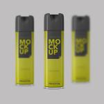 Spray Packaging Mockup