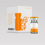 Health Ampoule – Pack Mock-up