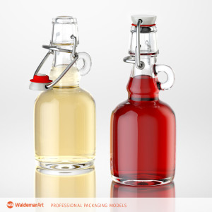 Eva - bottle for oils and winegard
