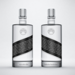 Vodka Gin Bottle Mock-up no.4