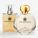 Perfume Bottle Mock-Up