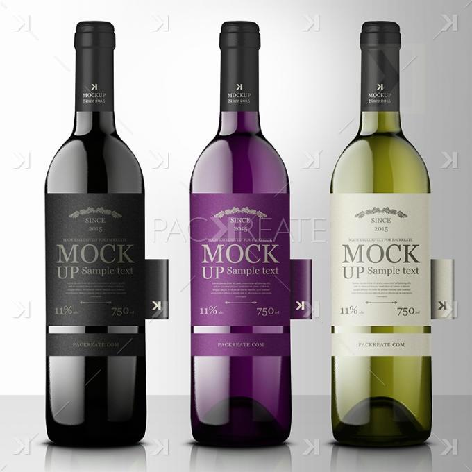 Premium Wine Mockups