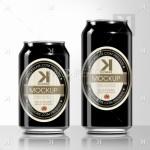 Beer Can PSD MockUp – Black