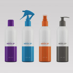 Cosmetics Packaging Mock-up – 200ml