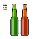 330ml Beer Bottle & Smart Object label #2