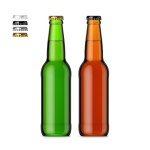 330ml Beer Bottle & Smart Object label #3