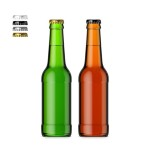 330ml Beer Bottle & Smart Object Label #1