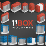 11BOX Package Mockups