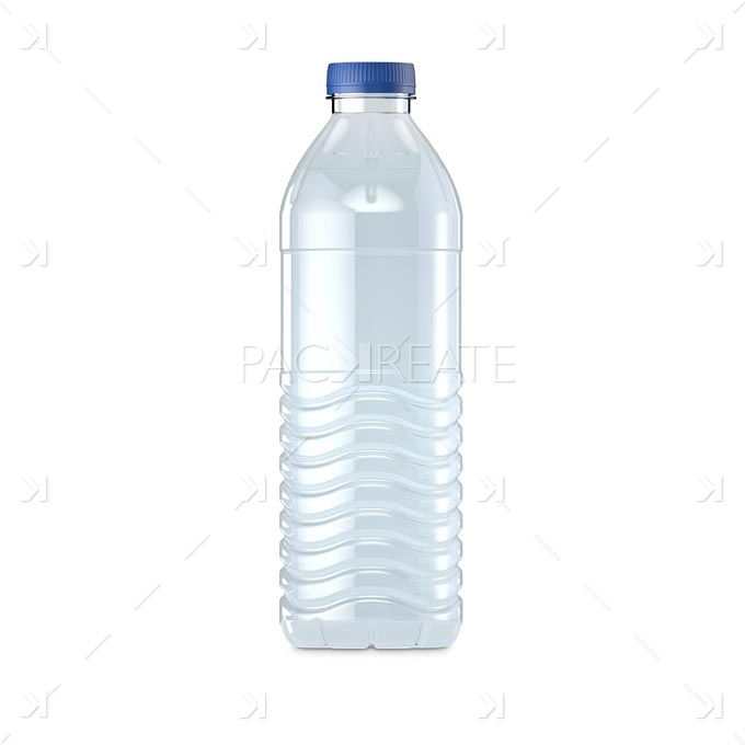 Packreate » 50cl / 500ml Mineral Water Bottle & Smart Label
