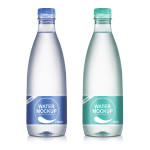 750ml Mineral Water Bottle PSD Mockup