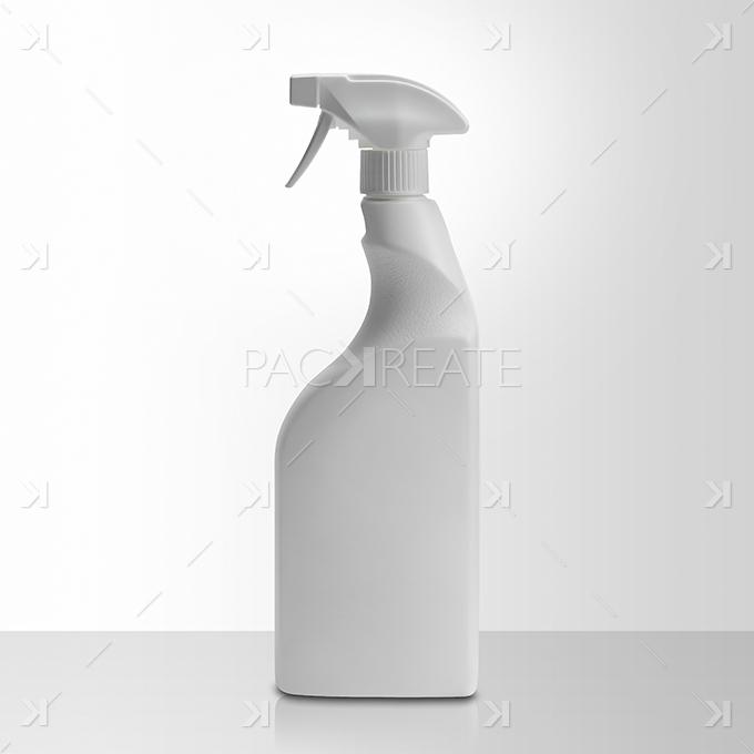 packreate 187 spray bottle psd mockup