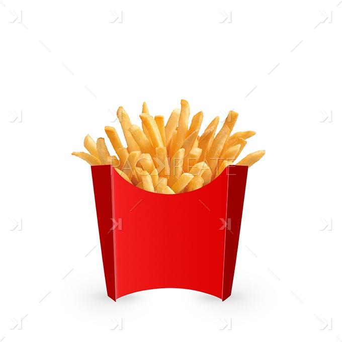 packreate  u00bb medium french fries packaging psd mockup
