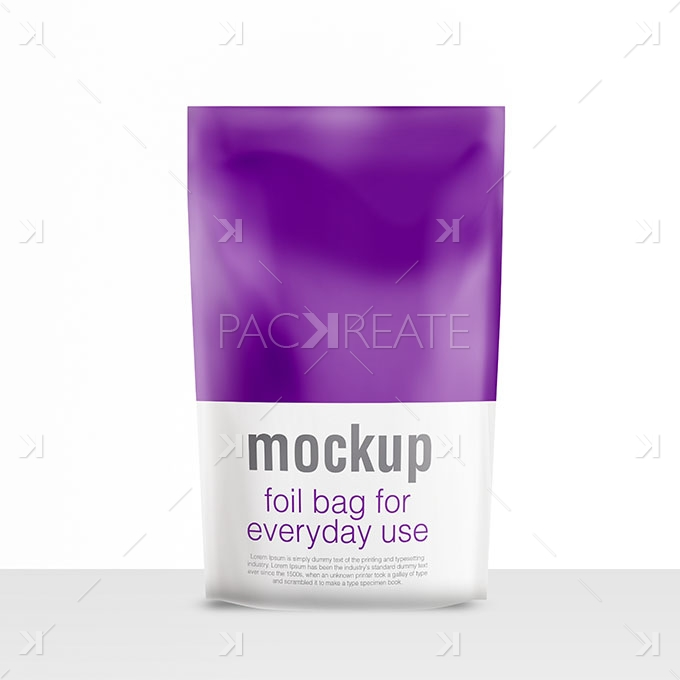 Packreate 187 Realistic Foil Packaging Psd Mock Up