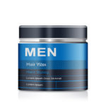 Men's Hair Wax Beauty Tub PSD Mockup