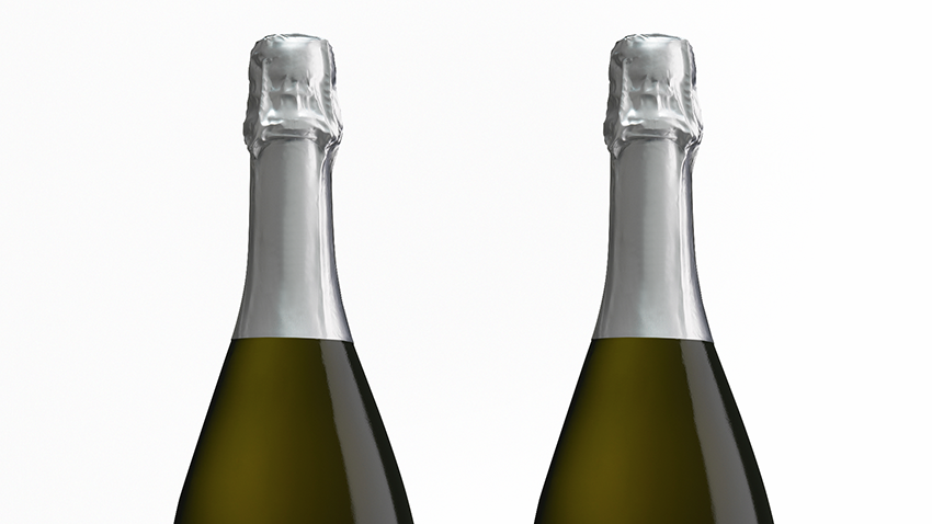 Packreate » Sparkling Wine / Champagne Packaging Mockup